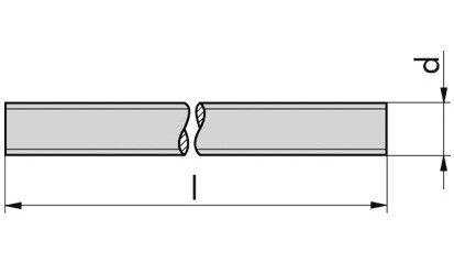 Gewindestange DIN 976-1-A - Polyamid 6.6 - M12 X 1000