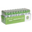 Alkalické mikro tužkové baterie RECA Typ AAA 40 ks