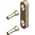 Metallfreie Konusverbindung Set A reduziert (Einzelbett)