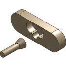 Metallfreie Konusverbindung Set A Verschub für Einhängungen im Eckbereich