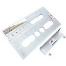Universal Frässchablone Aluminium 445 x 245 mm für metallfreie Konusverbindungen