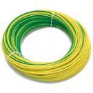Kabely H05V-K 1mm2 zelené/žluté