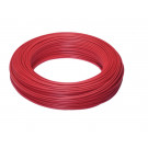 Kabely H05V-K 1mm2 červené