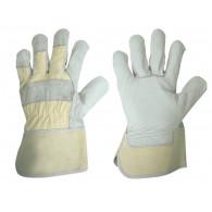 Pracovní rukavice z chromité štípenky 5 prsté
