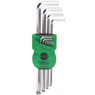 RECA sada šestihranných klíčů Impact s vnitřním 6hr. a kuličkou vel.1,5-10mm