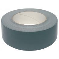 Lepicí páska s tkaninou univerzální, stříbrná, šířka 50 mm, délka 50 m